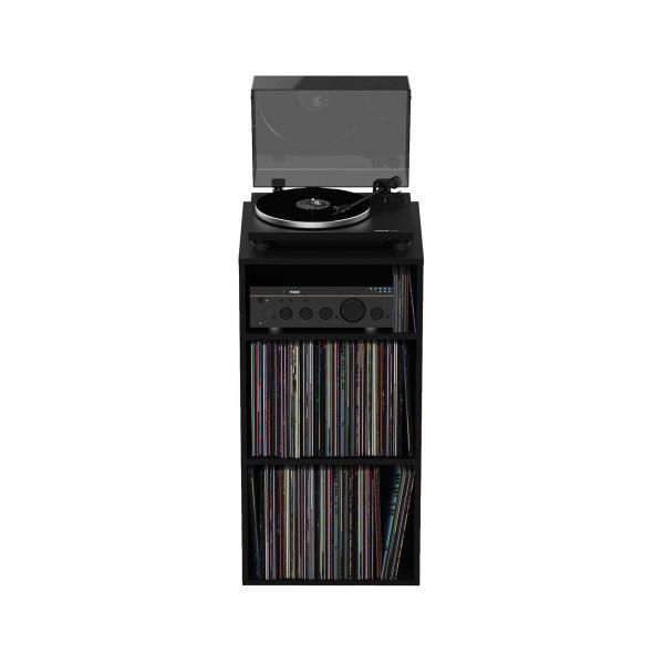 Mobilier rangement dj Glorious Modular Mix Rack Black