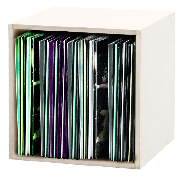 Mobilier rangement dj Glorious Record Box 110 White