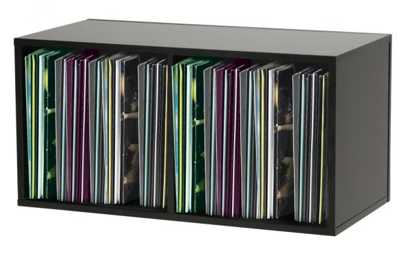 Mobilier rangement dj Glorious Record Box 230 Black