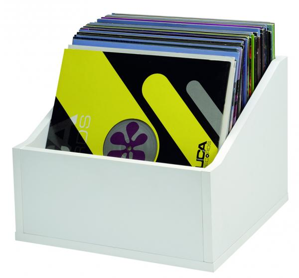 Mobilier rangement dj Glorious Record Box Advanced 110 White