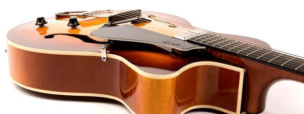 Guitare  U00e9lectrique Caisse Jazz Godin 5th Avenue Jazz  Tric