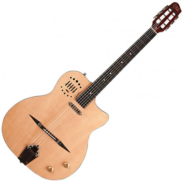 Guitare manouche Godin Multiac Gypsy Jazz 10 - Natural hg