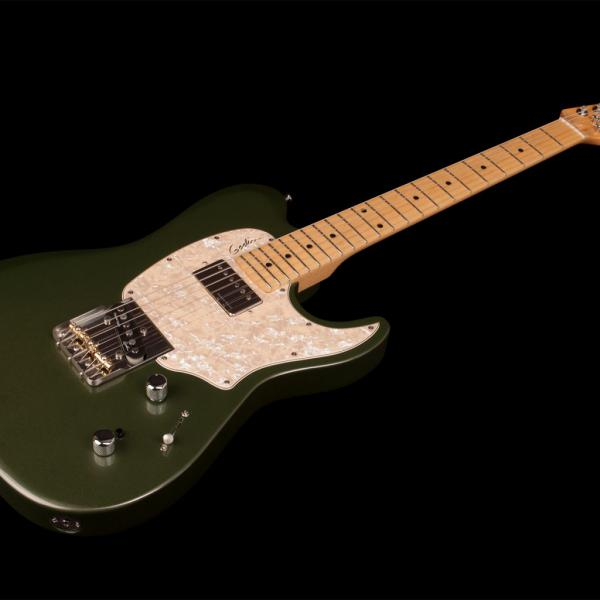 Guitare électrique solid body Godin Stadium '59 Ltd (MN) - desert green