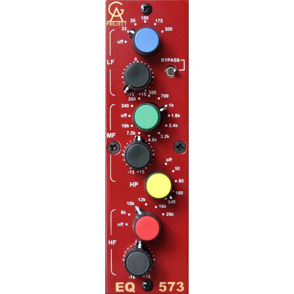 Equaliseur / channel strip Golden age project EQ-573