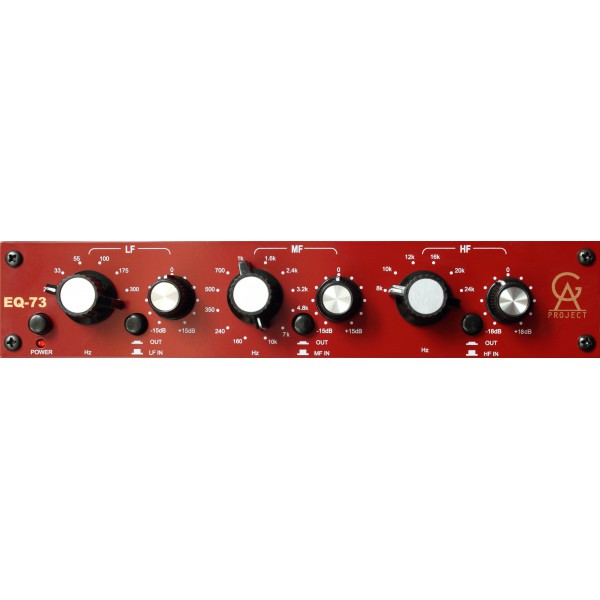 Equaliseur / channel strip Golden age project EQ-73