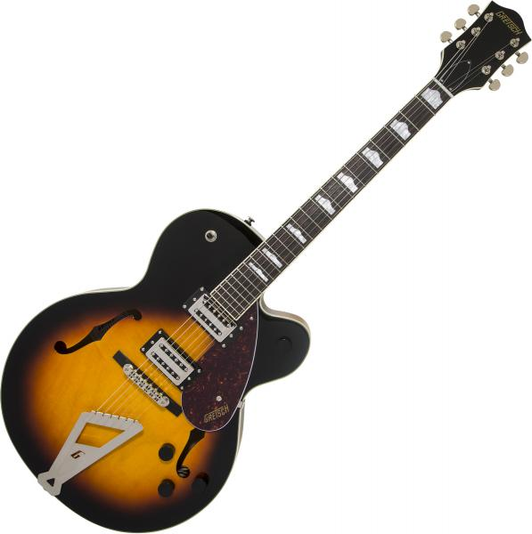 Guitare électrique 1/2 caisse Gretsch G2420 Streamliner Hollow Body with Chromatic II - Aged brooklyn burst