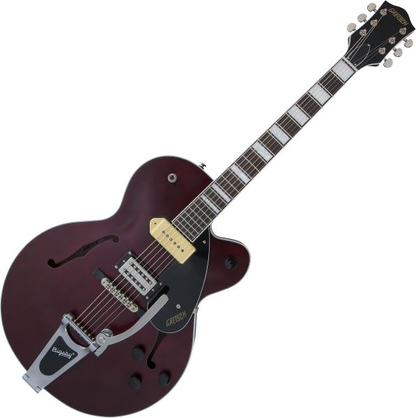 image G2420T-P90 Streamliner Hollow Body Bigsby - midnight wine satin