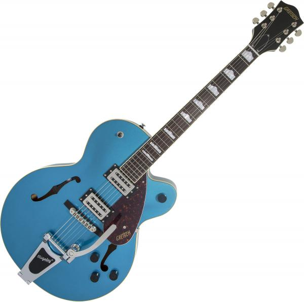 Guitare électrique hollow body Gretsch G2420T Streamliner Hollow Body Bigsby - riviera blue