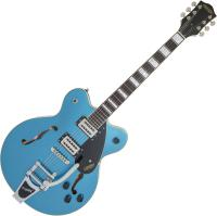 Guitare électrique hollow body Gretsch G2622T Streamliner Center Block Bigsby - Riviera blue