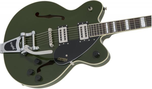 Guitare électrique 1/2 caisse Gretsch G2622T Streamliner Center Block Bigsby - torino green