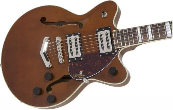 Guitare électrique 1/2 caisse Gretsch G2655 Streamliner Center Block Jr. Stoptail - single barrel stain
