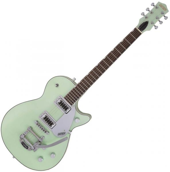 Guitare électrique solid body Gretsch G5230T Electromatic Jet FT Single-Cut with Bigsby Ltd - broadway jade metallic