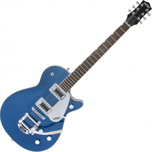 Guitare électrique solid body Gretsch G5230T Electromatic Jet FT Single-Cut with Bigsby - Aleutian blue