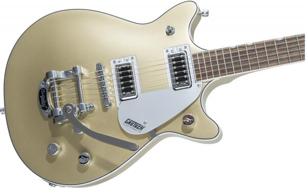 Guitare électrique solid body Gretsch G5232T Electromatic Double Jet FT with Bigsby - casino gold