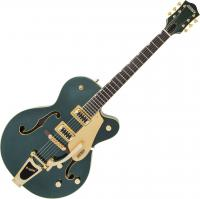 Guitare électrique caisse jazz Gretsch G5420TG Electromatic Hollow Body Ltd - cadillac green