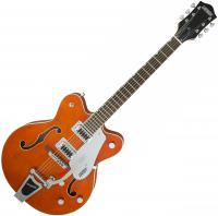 Guitare électrique caisse jazz Gretsch G5422T Electromatic Hollow Body - Orange stain