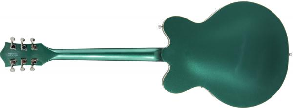 Guitare électrique hollow body Gretsch G5622T Electromatic Center Block Double-Cut with Bigsby 2019 - georgia green