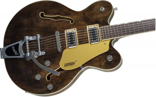 Guitare électrique hollow body Gretsch G5622T Electromatic Center Block Double-Cut with Bigsby 2019 - imperial stain