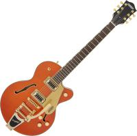 Guitare électrique hollow body Gretsch G5655TG Electromatic Center Block Jr. - Orange stain