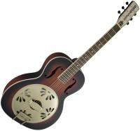 Dobro resonateur Gretsch G9241 Alligator Biscuit Round-neck Resonator Fishman - 2-color sunburst
