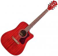 Guitare folk Guild D-120CE Westerly - Cherry red