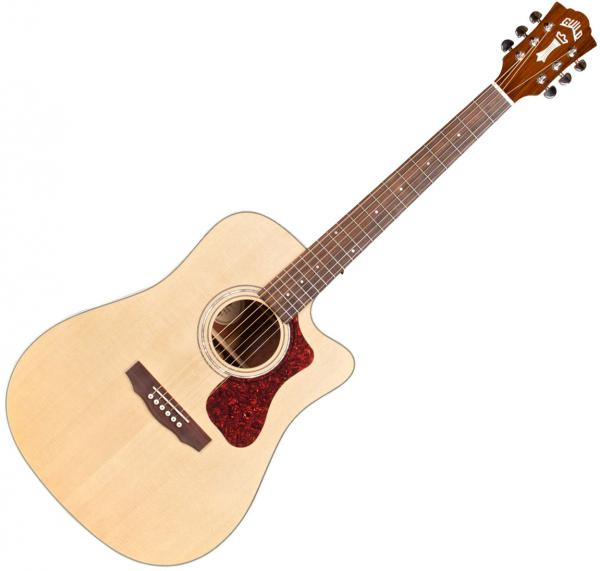 Guitare folk & electro Guild D-140CE Westerly (CITES Free) - Natural