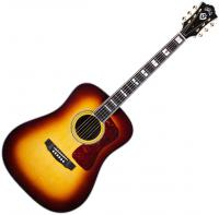 Guitare folk Guild D-55E USA - Antique burst