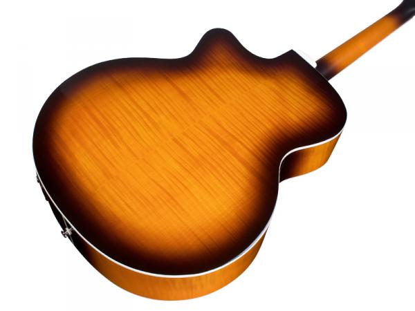 Guitare folk Guild F-250CE Deluxe Westerly - antique burst