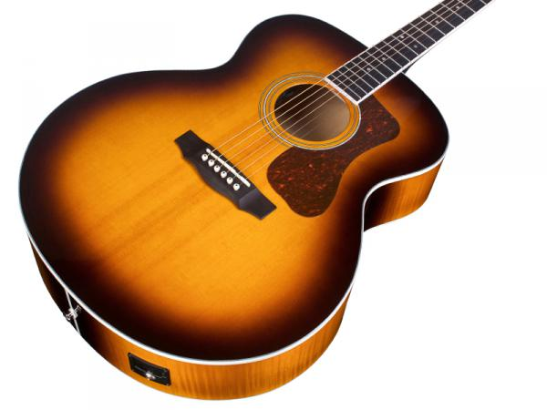 Guitare folk Guild F-250E Deluxe Westerly - antique burst