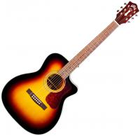 Guitare folk Guild OM-140CE CF Westerly +Bag (CITES Free) - Sunburst