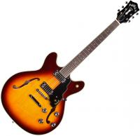 Guitare électrique hollow body Guild Starfire IV ST Maple - Maple antique sunburst