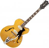 Guitare électrique hollow body Guild X-175B Manhattan +case - Blonde