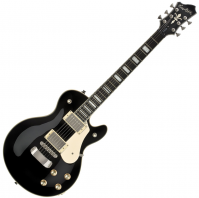 Guitare électrique solid body Hagstrom Swede - Black gloss