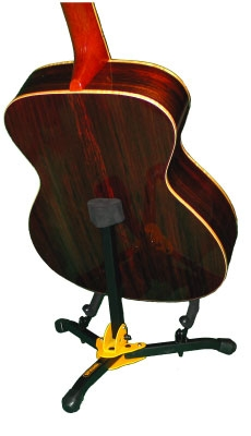 Stand & support guitare & basse Hercules stand GS401BB Floor Acoustic Guitar Mini Stand + bag