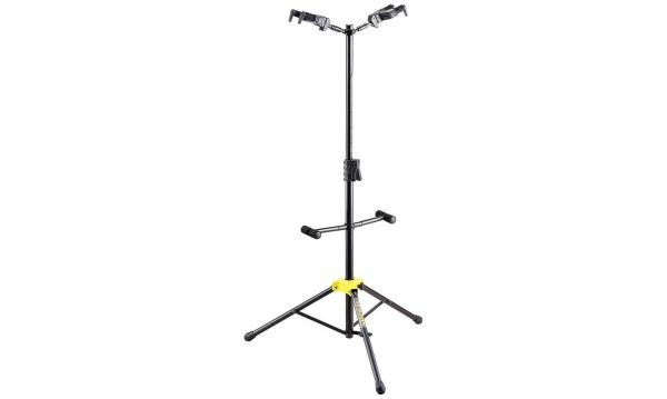 Stand & support guitare & basse Hercules stand GS422B Floor 2-Guitars Stand