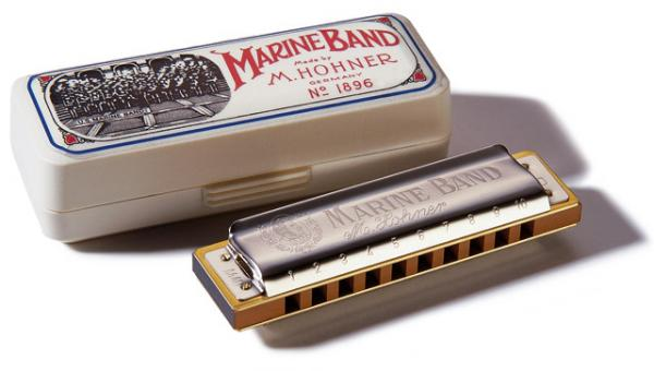 Harmonica Hohner Marine Band 1896-20 en Do