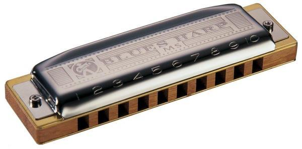 Harmonica Hohner MS Blues Harp - en Re