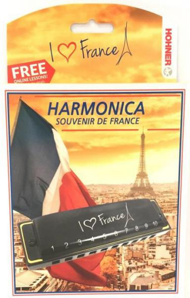 Harmonica Hohner 559/20C I Love France