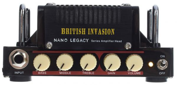 Tête ampli guitare électrique Hotone Nano Legacy British Invasion Head
