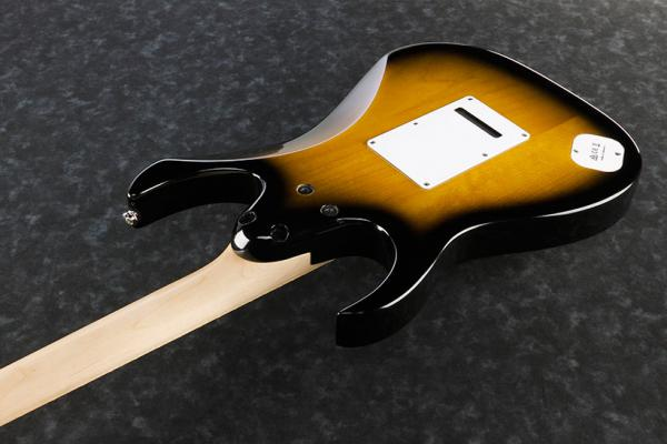 Guitare électrique solid body Ibanez Andy Timmons AT10P SB Premium - sunburst