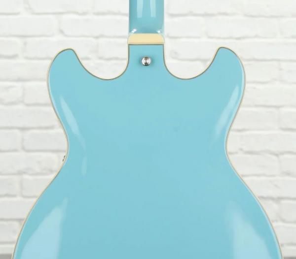 Guitare électrique hollow body Ibanez AS7312 MTB Artcore - mint blue