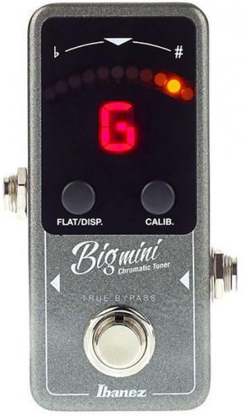 Accordeur en pedale Ibanez Big Mini Chromatic Tuner