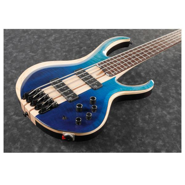 Basse électrique solid body Ibanez BTB20TH5 BRL Standard - blue reef gradation low gloss