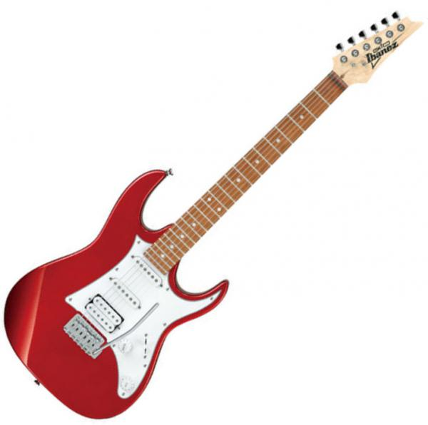 Guitare électrique solid body Ibanez GRX40 CA GIO - Candy apple