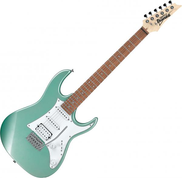 Guitare électrique solid body Ibanez GRX40 MGN GIO - Metallic light green