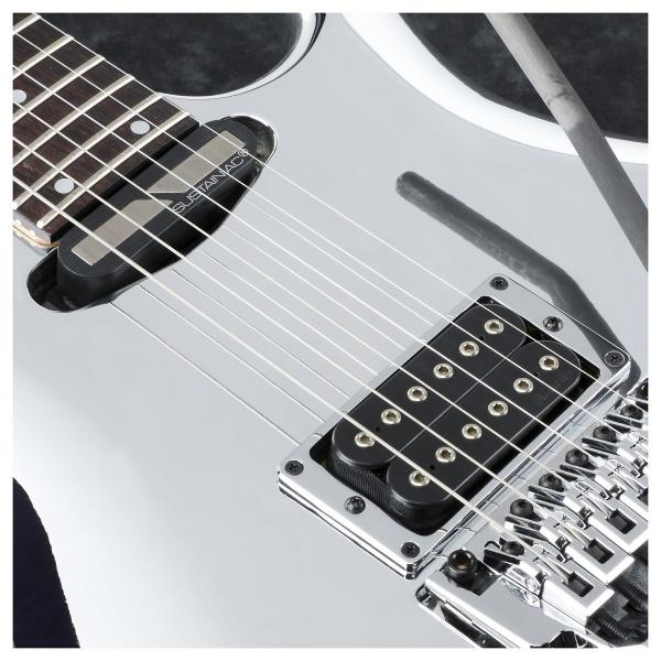 Guitare électrique solid body Ibanez Joe Satriani JS1CR Japan - chrome boy