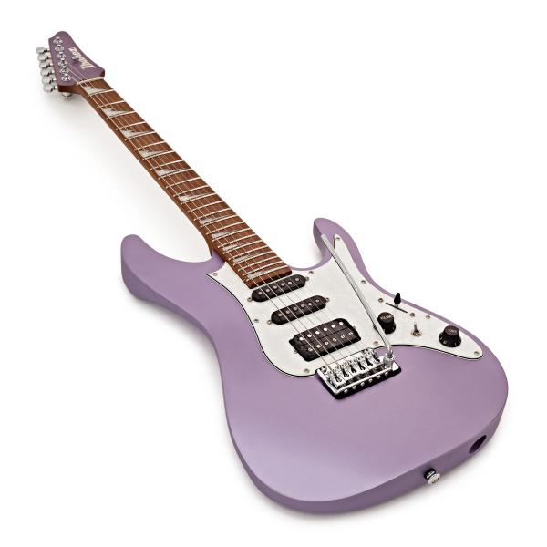 Guitare électrique solid body Ibanez Mario Camarena MAR10 LMM Premium +Bag - lavender metallic matte