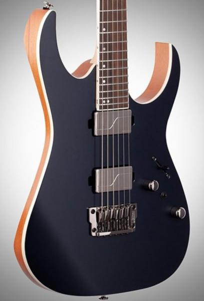 Guitare électrique solid body Ibanez RG5121 DBF Prestige Japan - dark tide blue flat