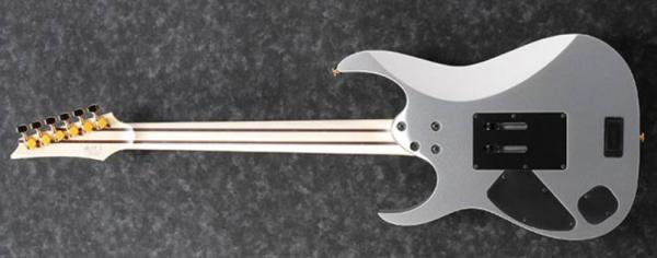 Guitare électrique solid body Ibanez RG5170 SVF Prestige Japan - silver flat