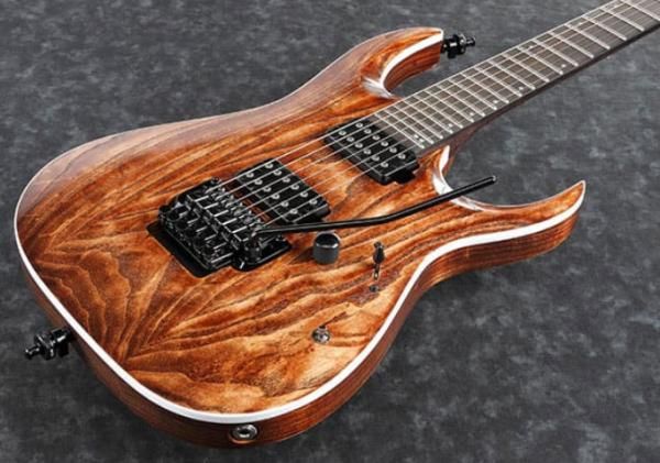 Guitare électrique solid body Ibanez RGA60AL ABL Axion Label - antique brown stained low gloss